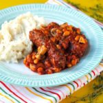 Turkey Sausage and Mixed Bean Casserole