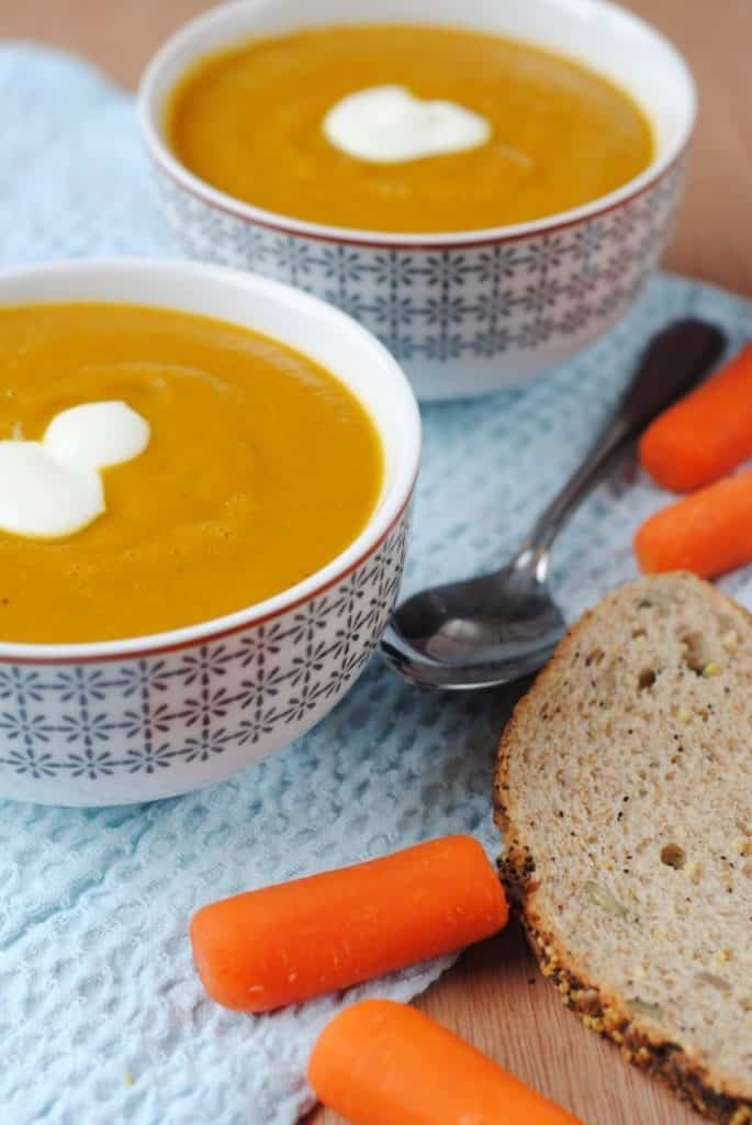 Carrot and Coriander Soup 2