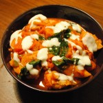 Chicken, Spinach and Sweet Potato Curry