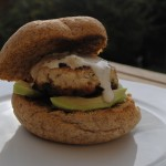 Turkey and Morita Burgers with Lime Aioli