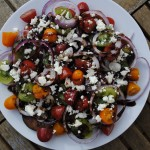 Tomato, Red Onion and Balsamic Salad