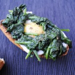 Spinach and Egg Nests