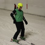 Skiing with Olympians