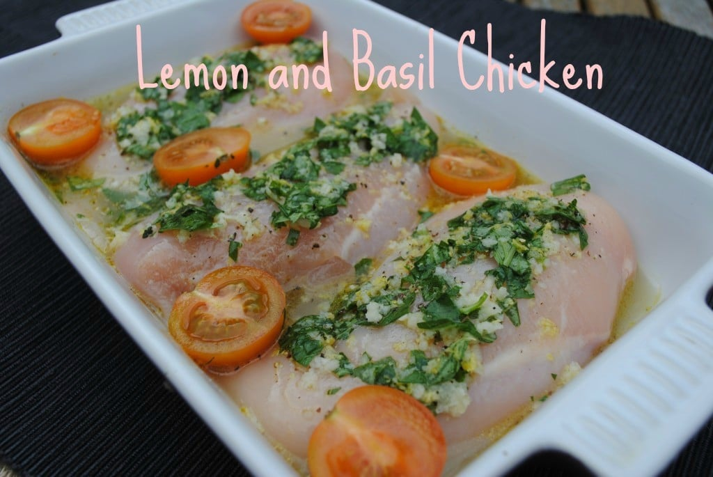 Lemon and Basil Chicken