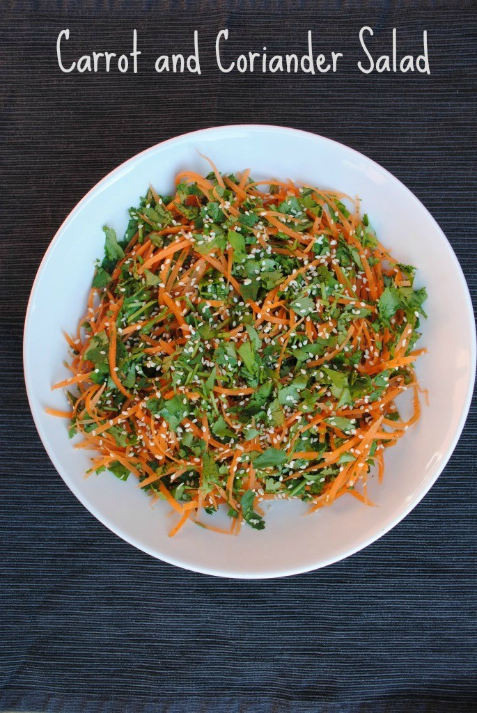 Carrot and Coriander Salad