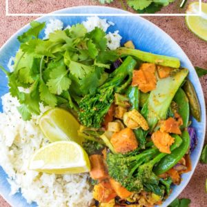 Thai Green Curry title picture