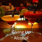 giving up alcohol