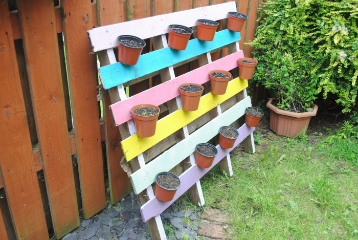 Space Saving DIY Herb Garden 2