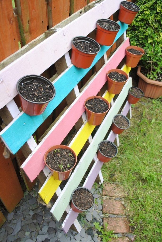 Space Saving DIY Herb Garden 5