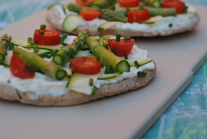 Spring Vegetable Pizza 3