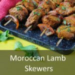 Moroccan Lamb Skewers Featured