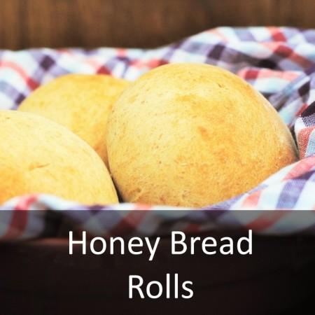 Honey Bread Roll Featured
