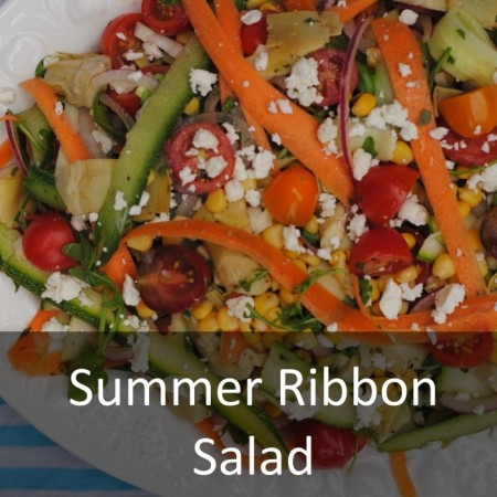 Summer Ribbon Salad Featured