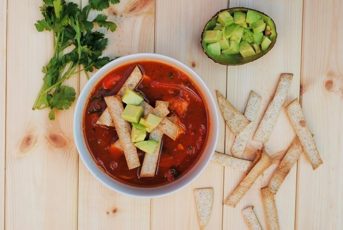 Mexican Tortilla Soup 5