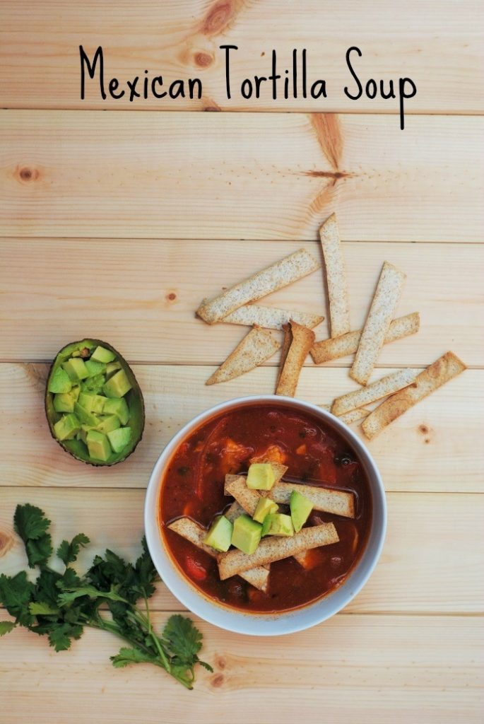 Mexican Tortilla Soup 6