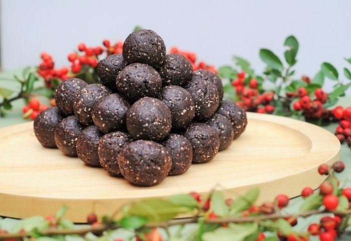 Raw Chocolate Cherry Truffles 3