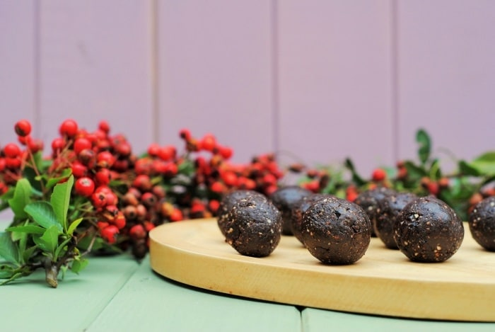 Raw Chocolate Cherry Truffles 4