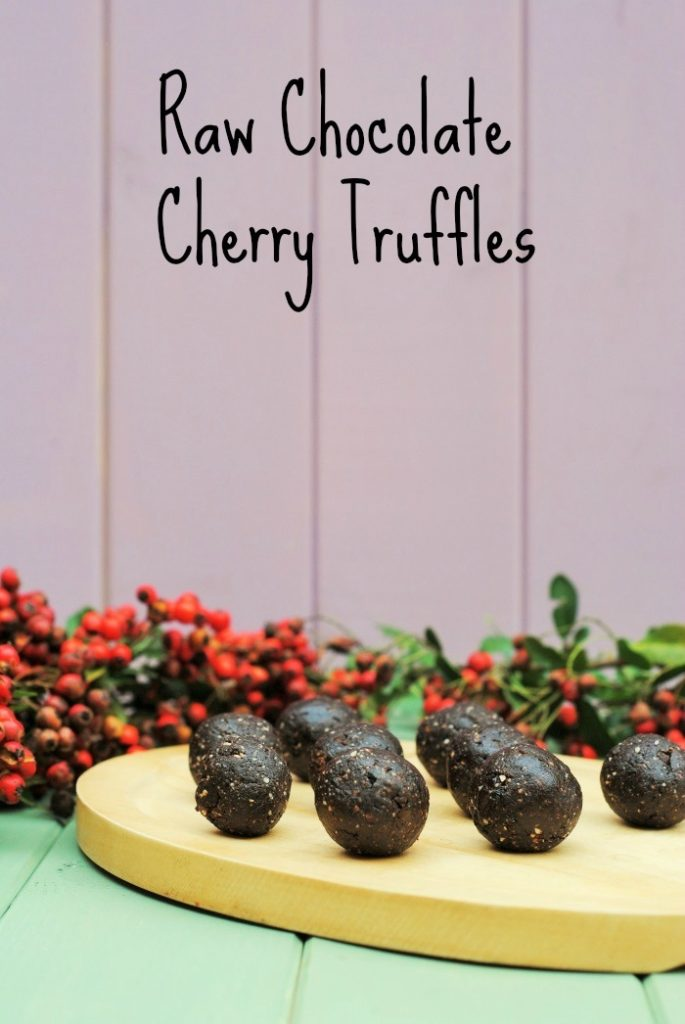 Raw Chocolate Cherry Truffles 5