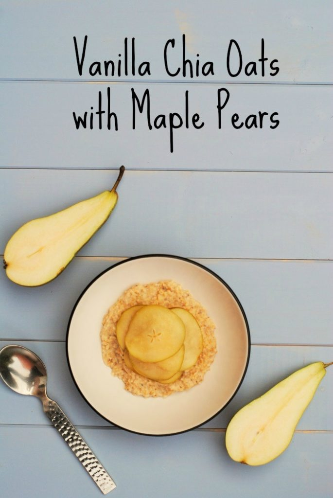 Vanilla Chia Oats with Maple Pears 3