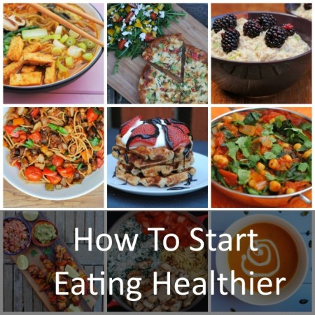 Healthy Eating Collage Featured