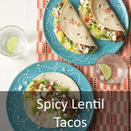 Spicy Lentil Tacos Featured