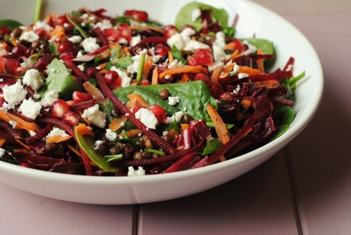 Winter Lentil Salad 3