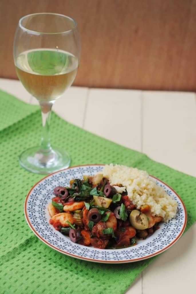 Spanish Butterbean and Spinach Stew 1
