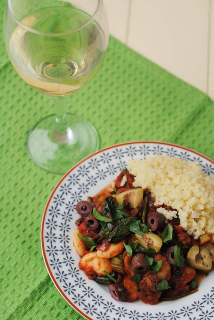 Spanish Butterbean and Spinach Stew 4