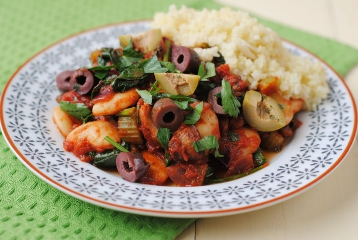 Spanish Butterbean and Spinach Stew 6