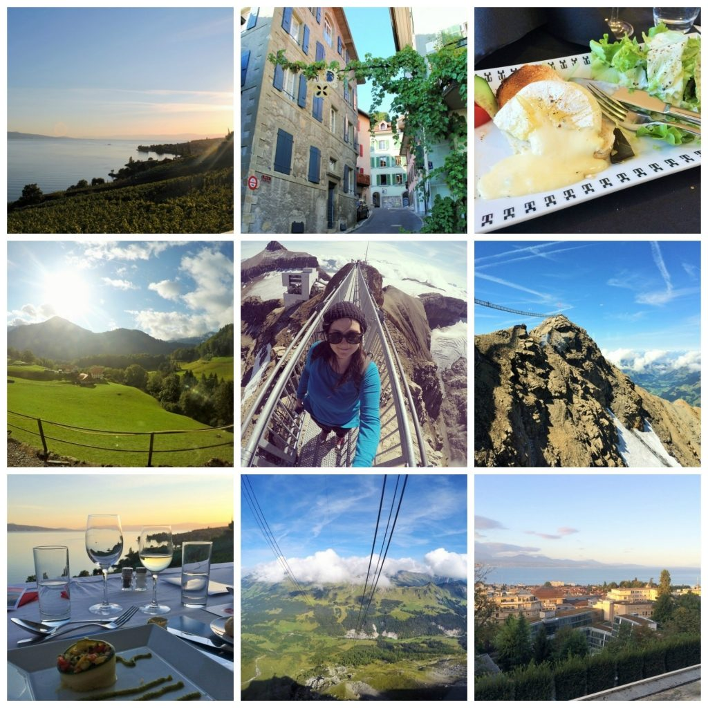 Switzerland - Lake Geneva Region Collage