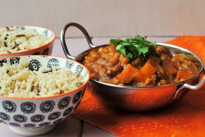 Slow Cooker Sweet Potato and Chickpea Curry 5 Edit