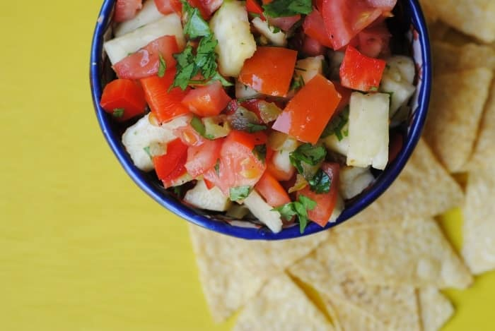 Grilled Pineapple Salsa 4