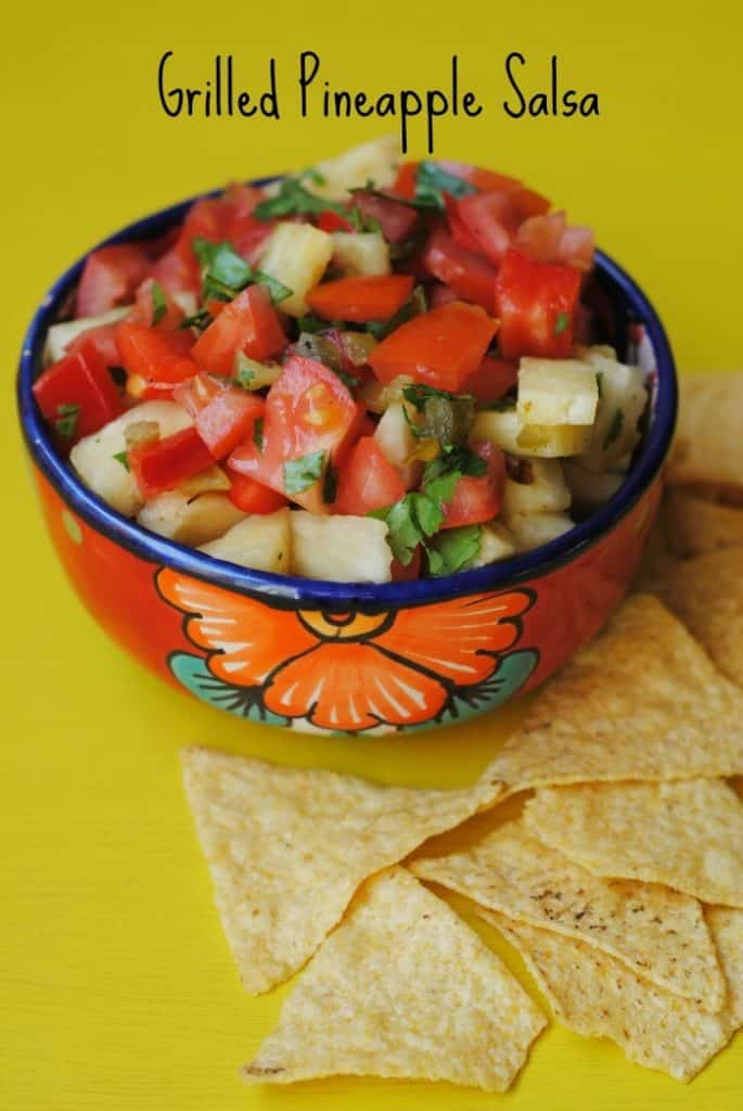 Grilled Pineapple Salsa 5