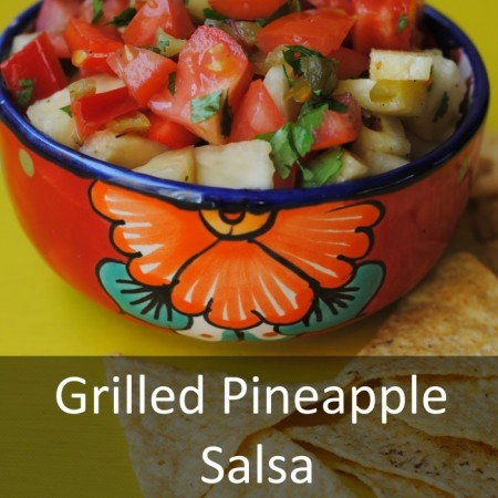 Grilled Pineapple Salsa Featured