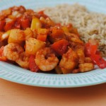 Sweet and Sour King Prawns