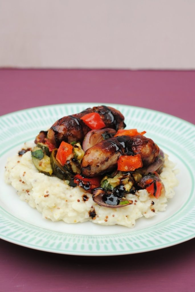 Balsamic Glazed Sausages 2