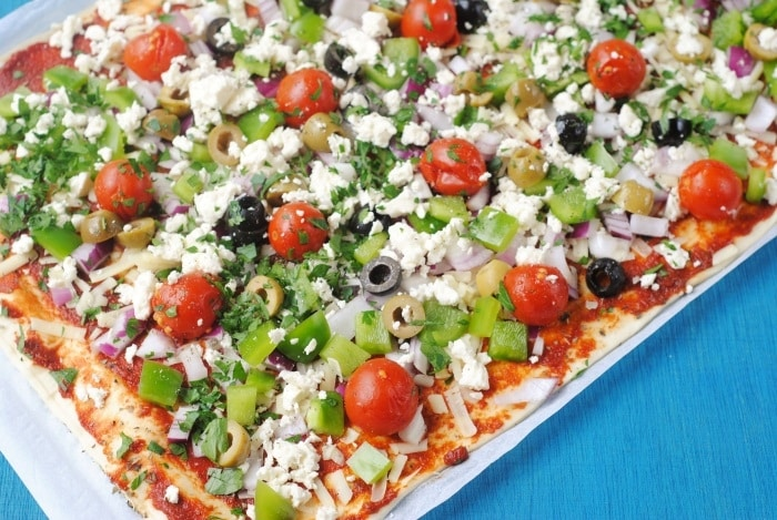 Greek Pizza 2