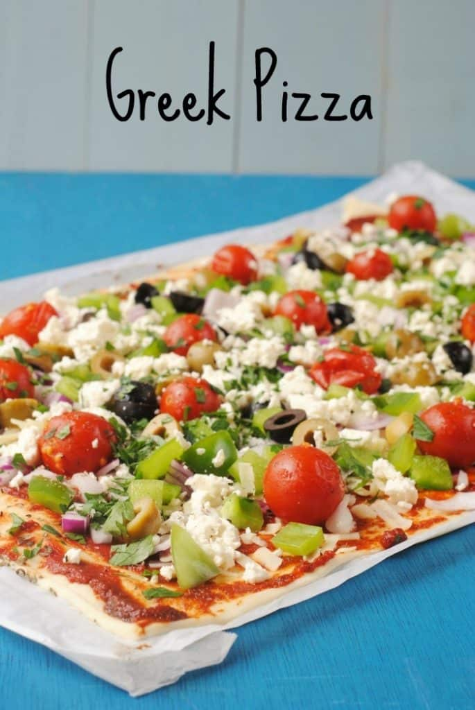 Greek Pizza 5