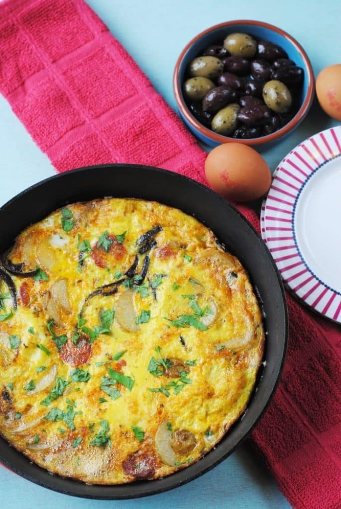 Tortilla (Spanish Omelette) 2