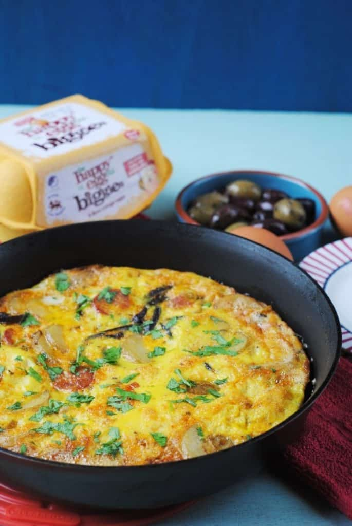 Tortilla (Spanish Omelette) 3