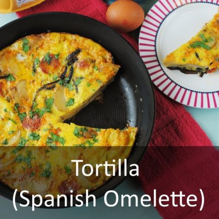 Tortilla (Spanish Omelette) Featured