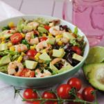 Chilli and Lime Prawn and Avocado Salad