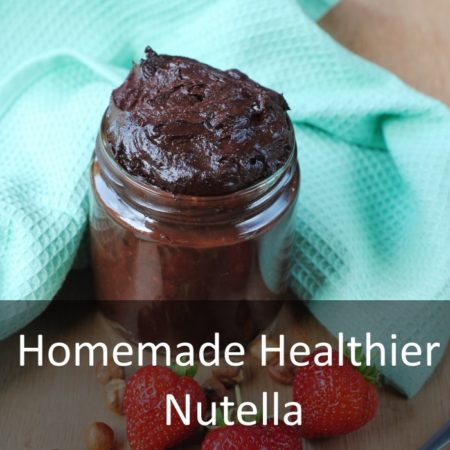 Homemade Healthier Nutella Featured