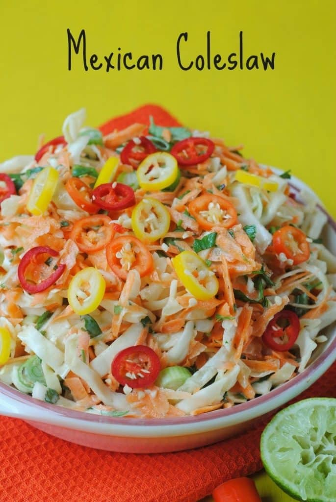 Mexican Coleslaw title