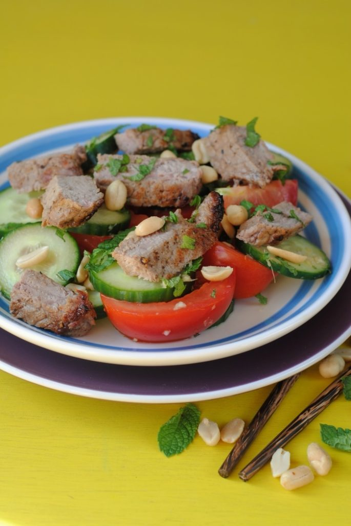 Thai Beef and Peanut Salad 4