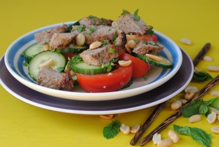 Thai Beef and Peanut Salad 5