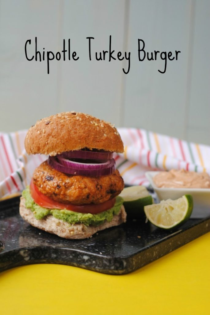 Chipotle Turkey Burger title