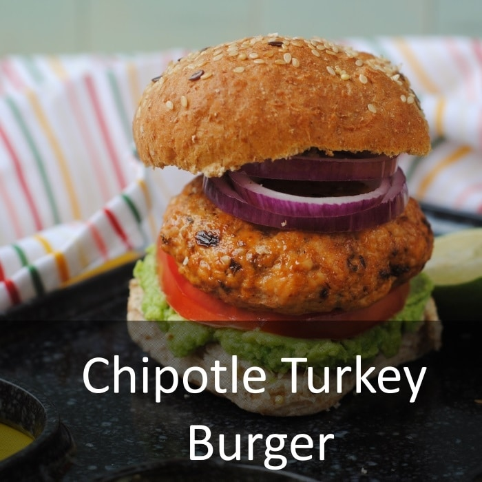 Chipotle Turkey Burger - Hungry Healthy Happy