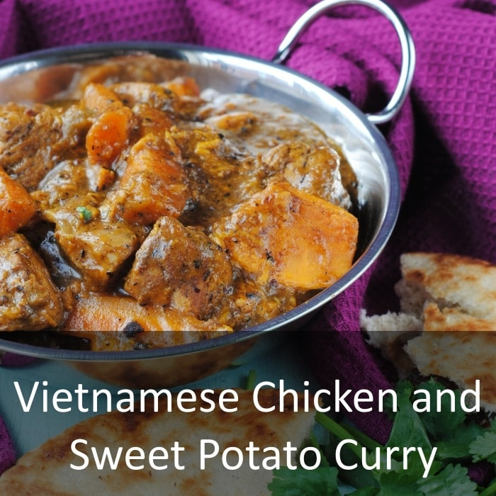 Vietnamese Chicken and Sweet Potato Curry - Hungry Healthy Happy