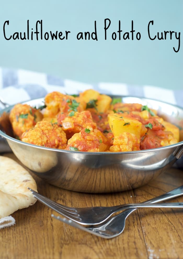 Cauliflower and Potato Curry title